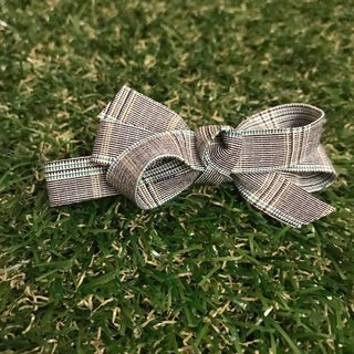 Only plaid blue edge hair clip