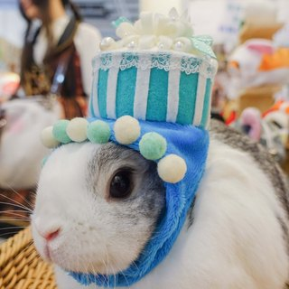 Bunny birthday cake cap * SS No. customized birthday hat under the single zone