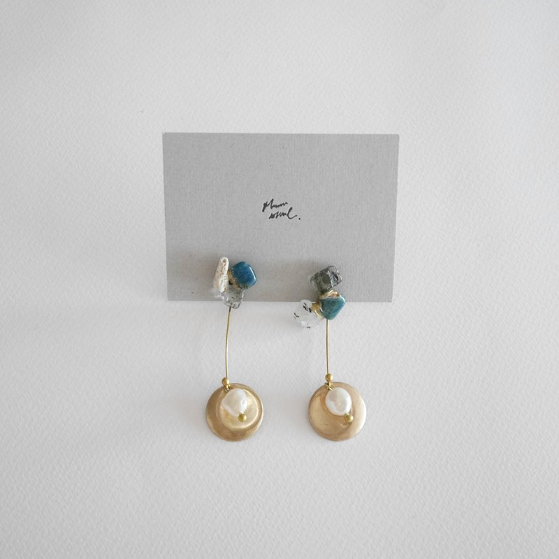 Jin Ji earrings ピアス / イヤリング | sea extension no.100
