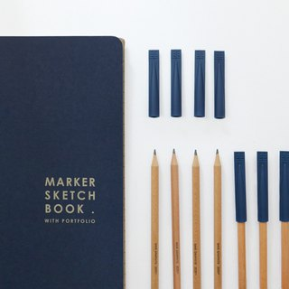 Marker Sketchbook set D