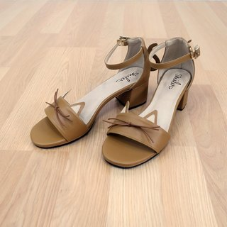 Wanna Cat Maxi Sandals - Brown