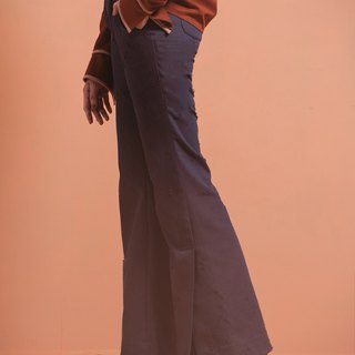 Hole Cowboy Horn Wide Pants