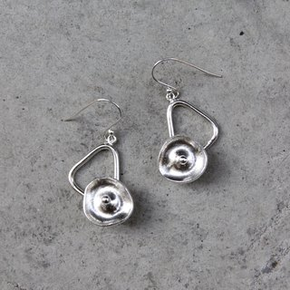 Original series of sterling silver earrings