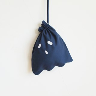 ghost lunch bag : navy