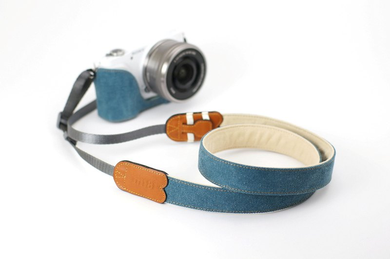 mi81 Printed cotton neck strap