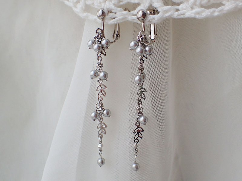 earrings with pearls, SWAROVSKI ELEMENTS