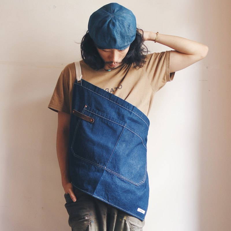 OMAKE Original dual-use half-length work apron