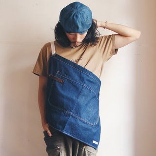 OMAKE dual-use half-length work apron