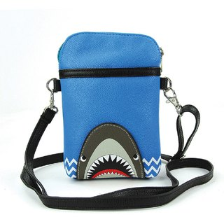 Sleepyville Critters - Shark Crossbody Pouch