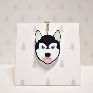 Snowshoe (Black) - Key Ring Acrylic
