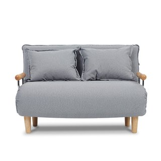 Otto AJ2 │ │ │ graphite gray two-seater sofa bed