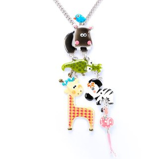 【Paris, France TARATATA】 animal party series animal party long pendant necklace