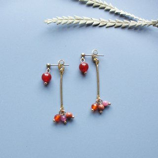Fruit - earring  clip-on earring