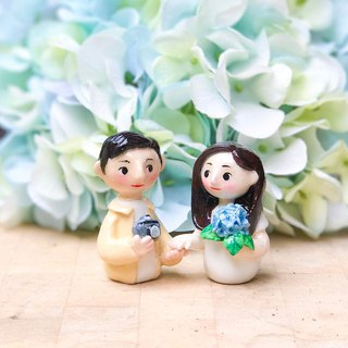 Wedding gift festival souvenir music box with Bluetooth wireless speaker doll order