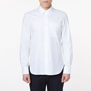 C200 Marvel Shirt ultra-fine white shirt pocket design