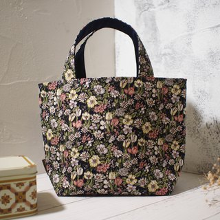 House wine series lunch bag / tote bag / limited edition handmade bag / small daisy / stock supply
