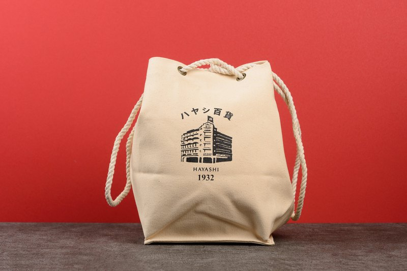 Hayashi Remake Lunch Bag(Large)-Building