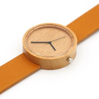 Nakari watch Beech Tan Men size