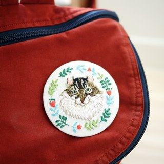 Exclusive orders - pet embroidery pins / ornaments (large) (Please confirm with the designer to place orders, thank you!)