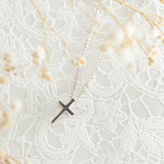 :: Simple Faith: 925 Silver Clavicle Chain