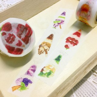 H Cafe 原創 紙膠帶 第15彈 Parfait Lovers / Original Masking Tape Vol:15
