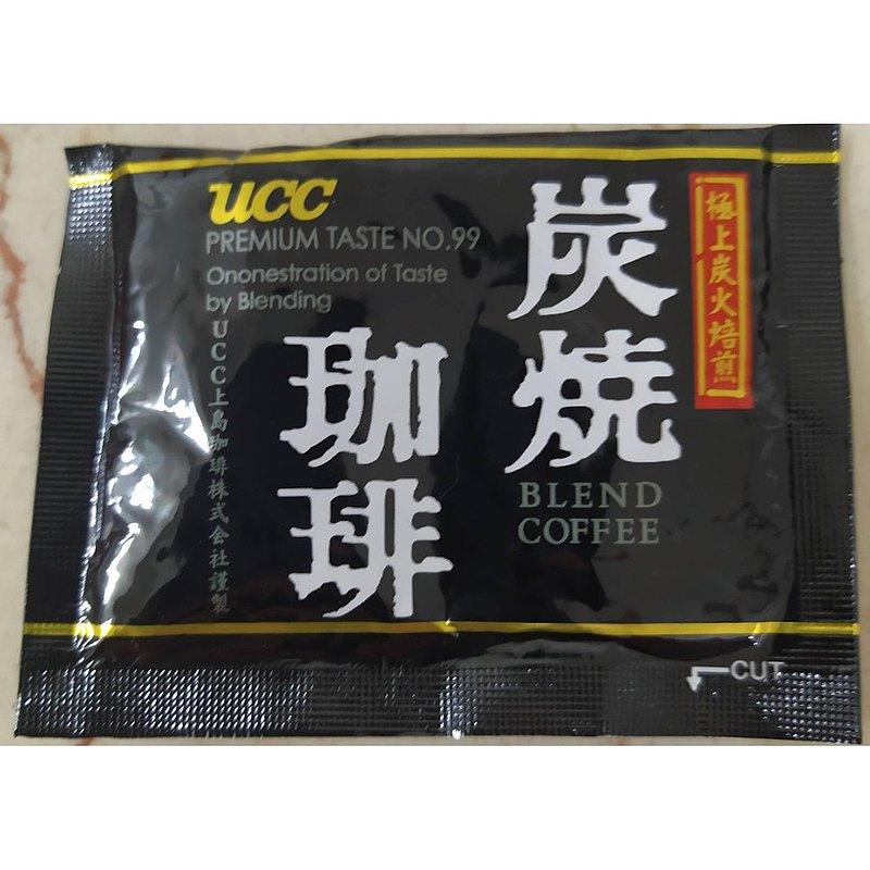 爍咖啡 UCC 純炭燒黑咖啡即溶隨身包 2.2g*100入/袋
