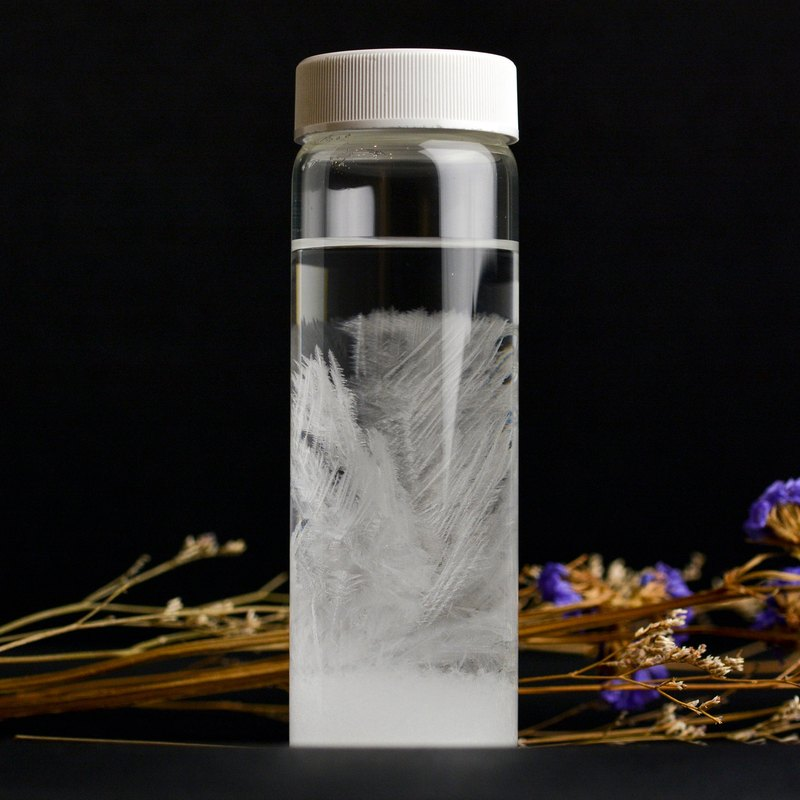 Storm Bottle / Weather Bottle Set DIY Handmade Christmas Gift Thermometer storm glass