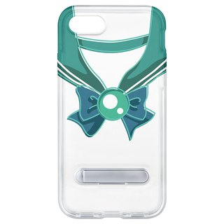 Sailor suit dark green hidden magnet bracket iPhone 8 plus 7 Plus 6 plus mobile phone shell