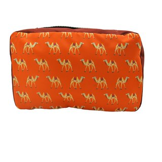 Jaime le Voyage Toiletry Bag - Camel
