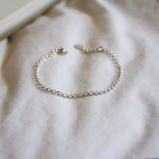 mint neiff - Simple Sterling Silver Bracelet I sterling silver chain