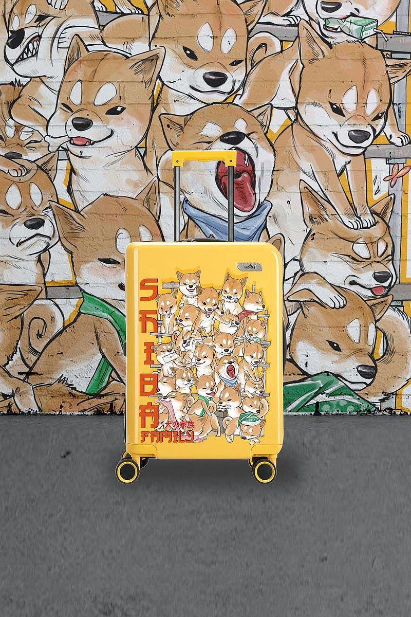 手提箱家犬黃20英寸