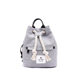 [RITE] Le Tour Series - Dual-use Boxing Small Backpack - Gray Ash