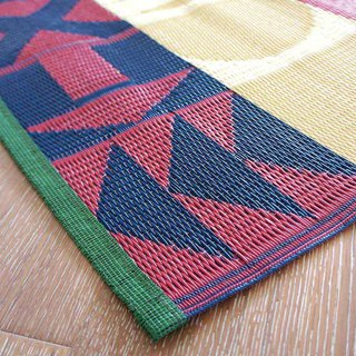 BISQUE / ZELT Weaving Picnic Mat