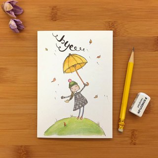 【LITTLE DIFFERENCE】BYE WINDY GREETING CARD
