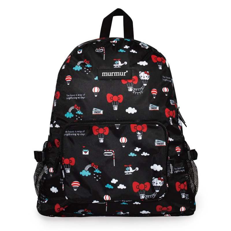 Murmur travel storage backpack | Hello Kitty hot air balloon