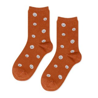 Sc. GREEN Lifestyle Smiley / Socks / Socks / Comfort Socks / Womens Socks