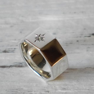 Nut simple ring (sv) nut simple ring silver