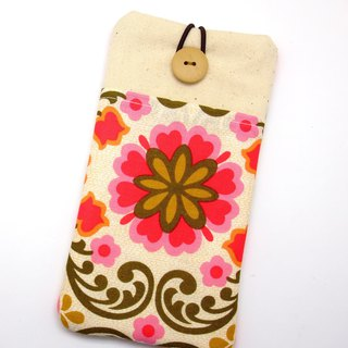 iPhone sleeve, Samsung Galaxy Note 8 case, cell phone pouch, iPod sleeve (P-251)