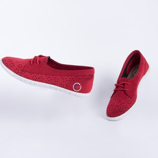 Baote bottle casual shoes Paris series wine red girls