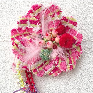Corsage Brooch beads embroidery