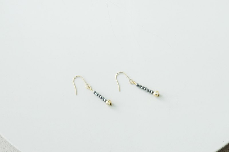 17 Autunm-Colorful Bead Earring-1