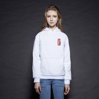British Fashion Brand [Baker Street] Little Stamp:Super Alpaca Printed Hoodie