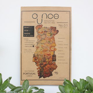 OUNCE Food Map Poster - Portugal