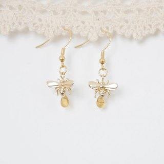 armei『甜蜜蜜』小蜜蜂 耳環 『My Honey』 HoneyBee Earrings