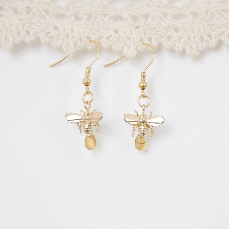 armei『甜蜜蜜』小蜜蜂 耳環 『My Honey』 HoneyBee Earrings
