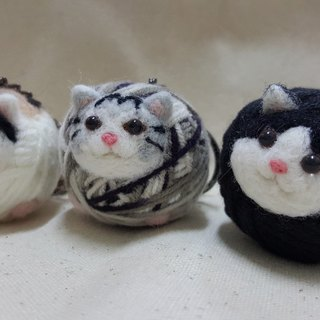 "Original Wool Felt ""Cats"" Line Keyring Series Customized 780 Can Be Private Messages~ (All halls are free of 1000, please pay attention and you can enjoy a discount of 10 yuan!!)"