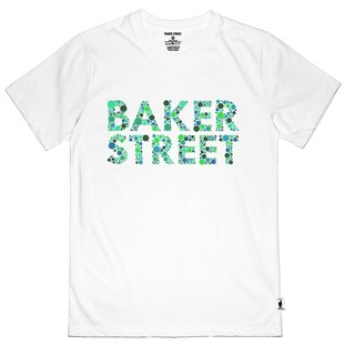 British Fashion Brand -Baker Street- Color Blindness Fonts Printed T-shirt
