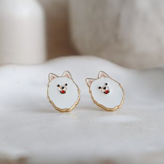 Samoyed Legend | Spitz Earrings