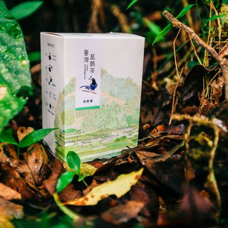 2018 new spring tea [organic four seasons spring] Taiwan blue tea - happiness tea garden (120 g economic package)