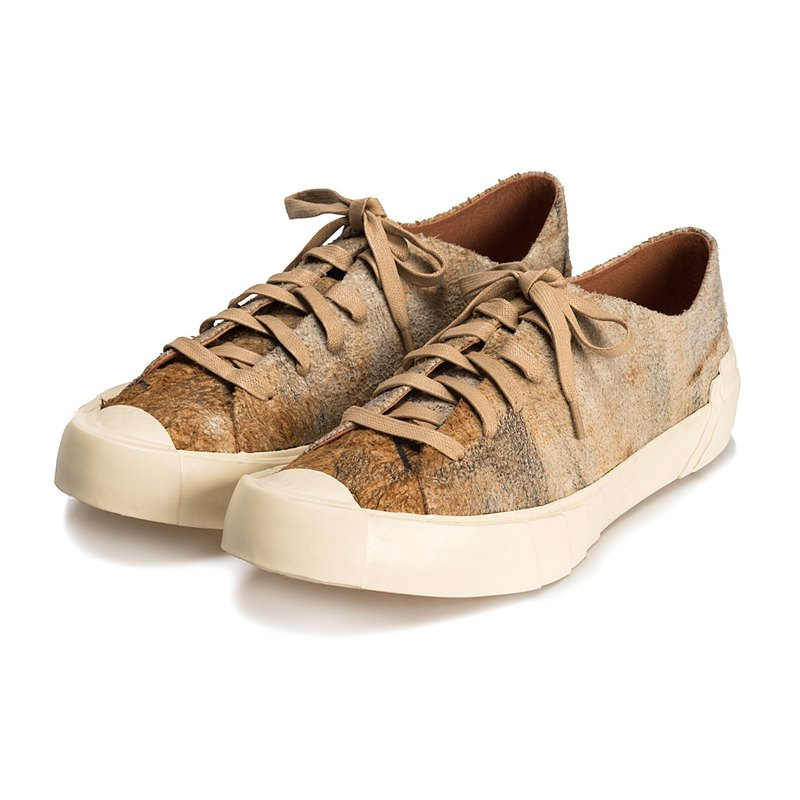Leather Sneaker Eskimo M1185 SandBrown